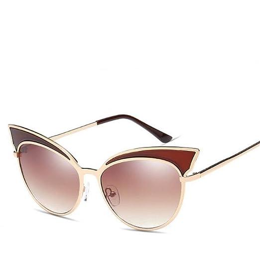Wmshpeds Personalità occhiali cat, signore di moda occhiali da sole, Europeo e Americano occhio di gatto occhiali da sole