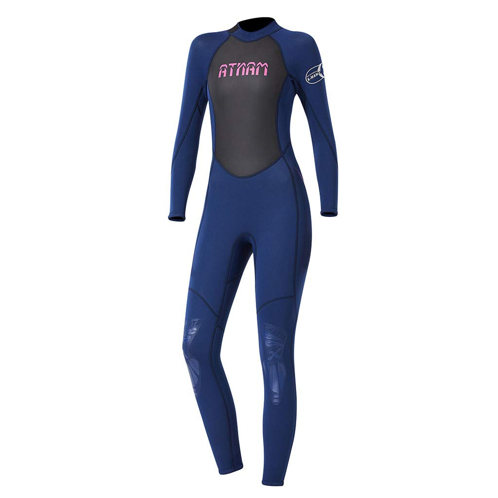 Women's Keep Warm Sunscreen Swimming,Surfing and Snorkeling Diving Coverall Suit by LUXISDE (Image #7)