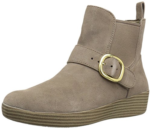 Picture of FitFlop Women's Superbuckle Suede Chelsea Boots Fashion