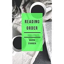 READING ORDER: AARON STANDER