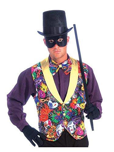 Forum Masquerade Party Costume, Multi-Colored, One - Party Masquerade Costume