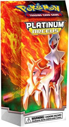 Deck Platinum Theme - Pokemon PL Card Game Platinum Arceus Theme Deck Set: FLAMEMASTER