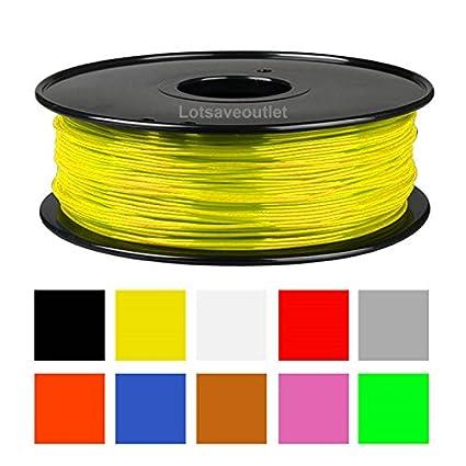 Amazon.com: Impresora 3d filamento ABS 2.2lb 1 kg ...
