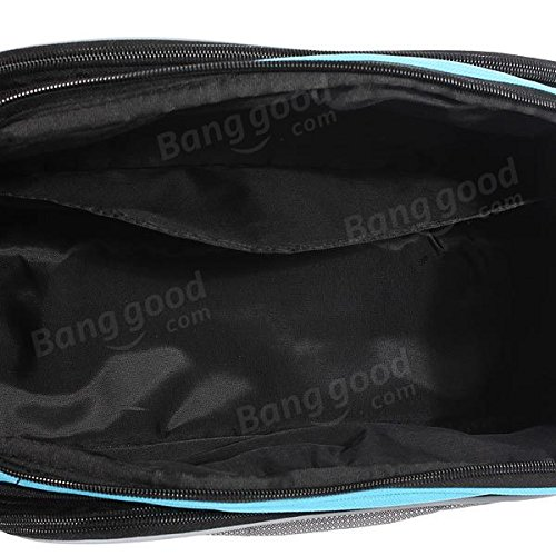Multi Bike Bicycle Rear Seat Tail Bag Pannier Handbag Double Sides ( Blue ) by Freelance Shop SportingGoods (Image #4)