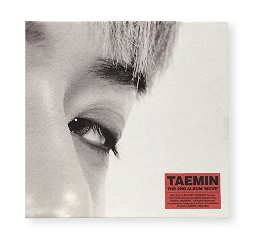 TAEMIN SHINee - MOVE CD+Booklet+Folded Poster+Extra Photocard Set