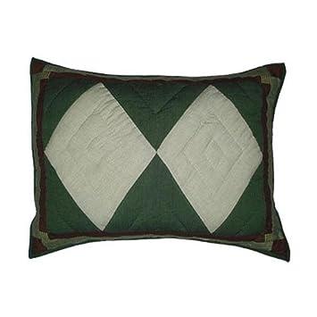 Amazon.com: Magic oso Trail Patch Work Pillow Sham, 27-inch ...