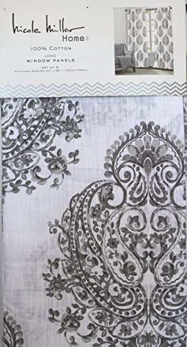 Deals On Nicole Miller Curtains Up To 78%   Hanutt