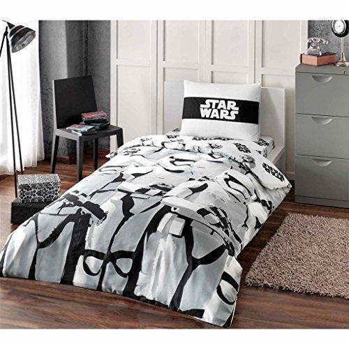 Starwars Stormtroopers 3 Pcs Twin / Single Size %100 Cotton Duvet Cover Set Bedding Linens - Star Wars Sheet 100 Cotton