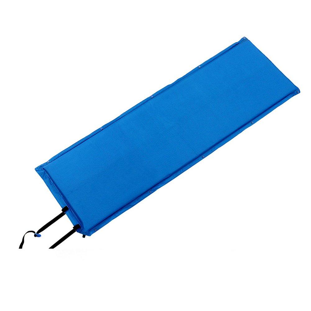 LXF Coperte di picnic Stuoia di campeggio esterna persone singole più spessa tappeto gonfiabile automatico può essere impiombato pad per dormire pieghevole stuoia a prova d'umidità facile da riporre Supporto impermeabile ( colore   Blu )