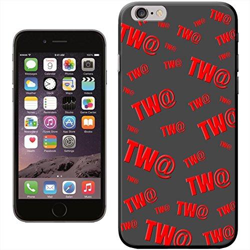 TW @ TWAT Funny Comédie cadeau humoristique Coque arrière rigide détachable pour Apple iPhone modèles, plastique, noir, iPhone 6
