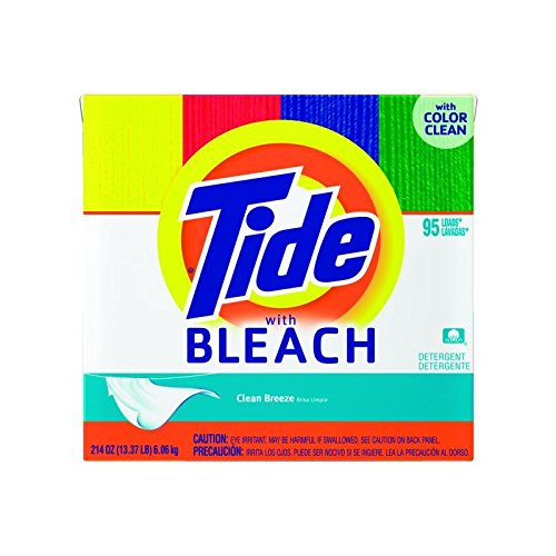 Proctor & Gamble Pro Line Tide Powder Laundry Detergent with Color Safe Bleach, 2- 171 oz bx/cs by Proctor & Gamble