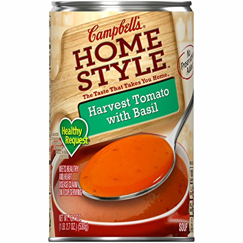 Campbell's Homestyle Healthy Request Soup, Harvest Tomato with Basil, 18.7 oz. (Pack of ()
