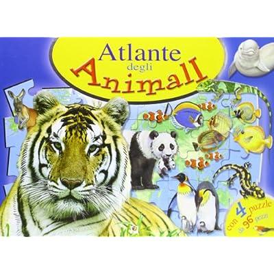 Atlante Degli Animali Libro Puzzle