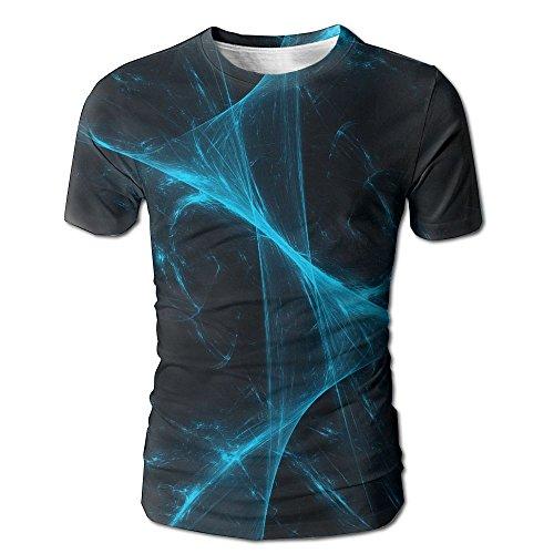 Abstract Desktop Men's Fashion Graffiti Graphic 3D Print Round Collar Short Sleeve T-shirts (Happy Halloween Wallpapers Desktop)