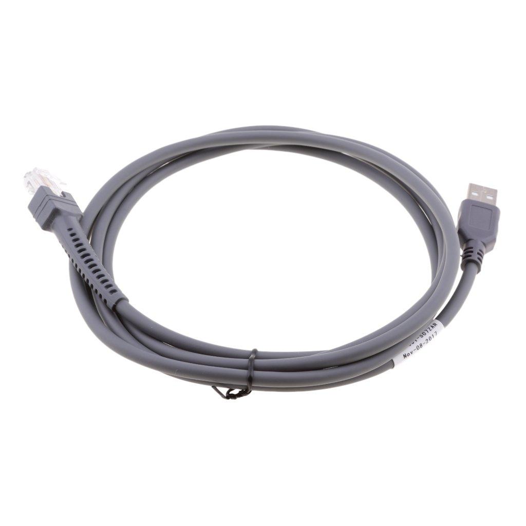 Cavo USB Per Motorola Symbol Barcode Scanner LS2208 3408 4278 7808 M2007