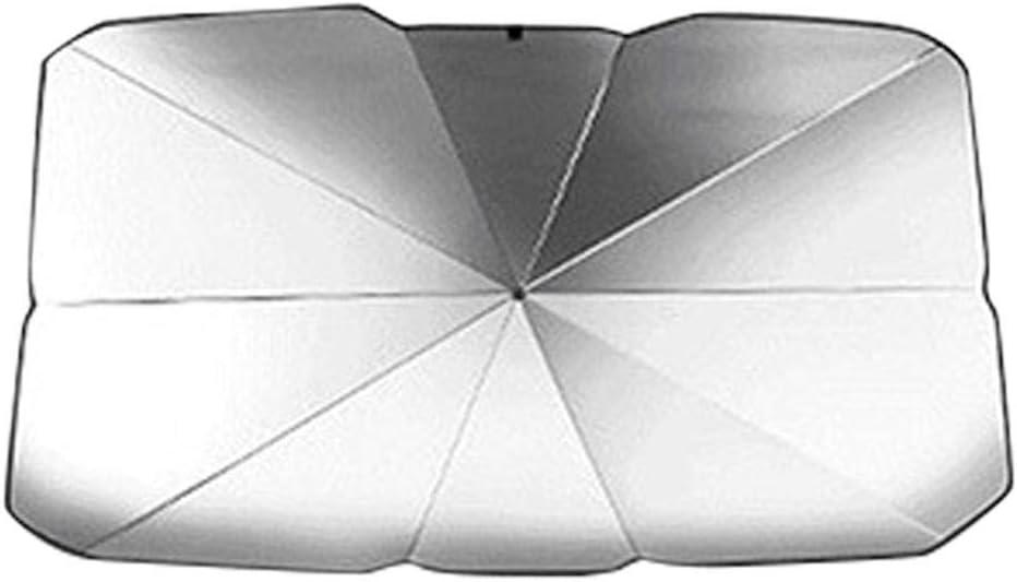Pare-brise Avant De Voiture Pare Soleil Parapluie Parasol Multi Use /Écran R/éflecteur Chaleur Rev/êtement Argent/é Visi/ère Confidentialit/é Pour Fen/être Isolation Protection UV Tige T/élescopique