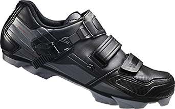 Shimano MTB - Zapatos de bicicleta de montaña, Multicolor (Negro/ Gris), talla 40 EU