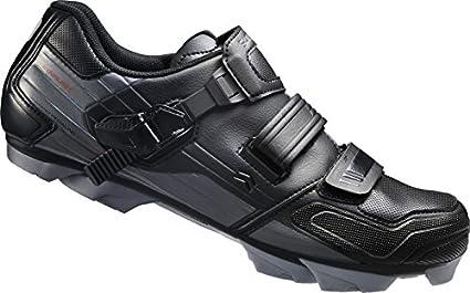 Shimano MTB - Zapatos de bicicleta de montaña, Multicolor (Negro/ Gris),