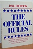 The Official Rules, Paul Dickson, 0440566843