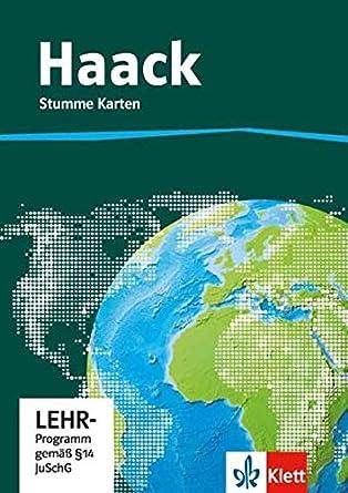 Stumme Karte Naher Osten.Der Haack Weltatlas Fur Sekundarstufe 1 Kopiervorlagen Auf
