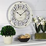 rustic chic decor FirsTime Antique Contour Wall Clock