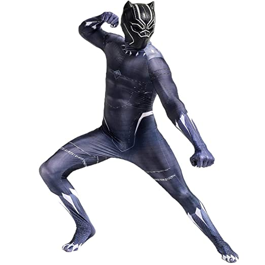 QQWE Marvel Black Panther Disfraz De Cosplay The Avengers ...