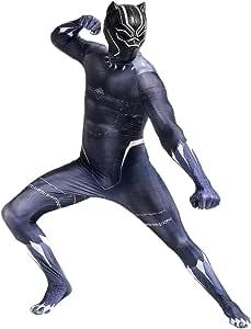 QQWE Marvel Black Panther Disfraz De Cosplay The Avengers Disfraz ...
