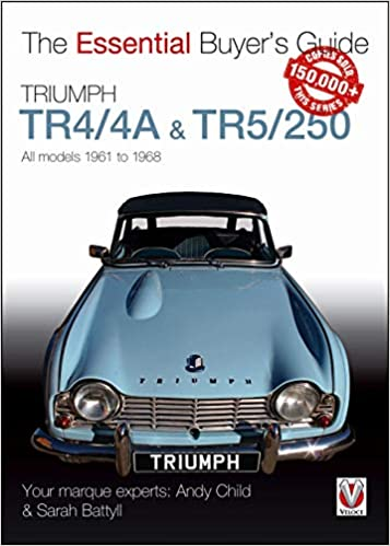 Triumph Tr44a Tr5250 All Models 1961 To 1968 Essential