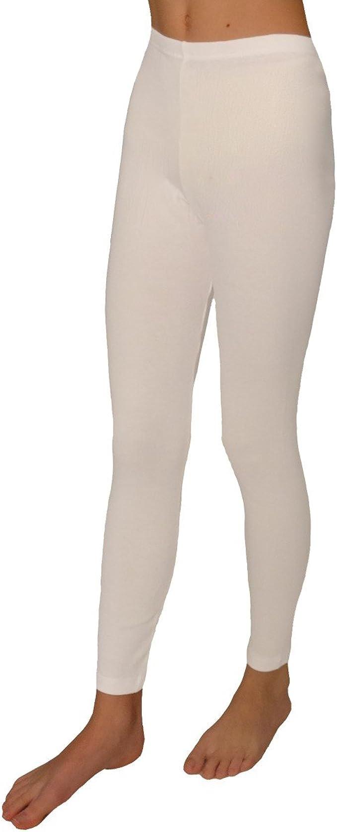 HERMKO 2720 Leggings para Chicos y Chicas, 100% algodón ...