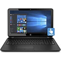HP 15.6 HD TouchScreen Laptop Computer, Intel Quad Core Pentium N3540 2.16Ghz Processor, 4GB Memory, 500GB Hard Drive, USB 3.0, DVDRW, HDMI, webcam, Windows 10 (Certified Refurbished)