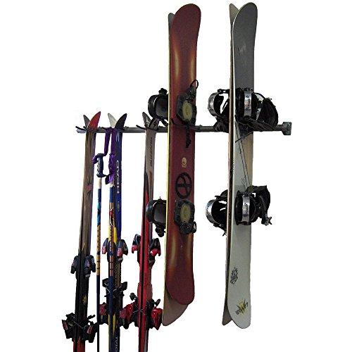 Monkey Bars Ski and Snowboard Rack