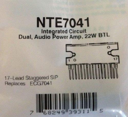 Part Electronics Nte (NTE 7041 Semiconductors)