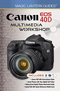 amazon com canon eos 40d guide to digital photography rh amazon com canon 70d guide book canon 40d guide pdf