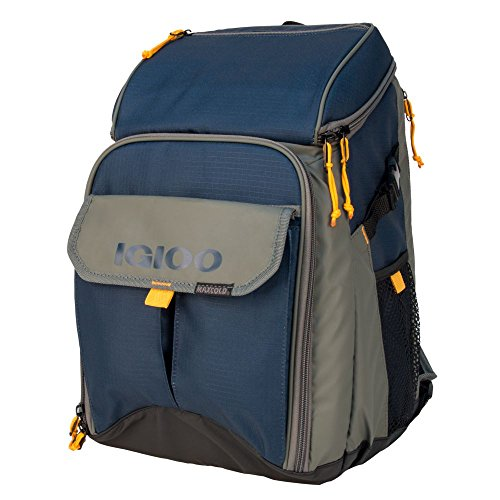 (Igloo Outdoorsman Gizmo Backpack-Slate Blue/Tan, Blue)