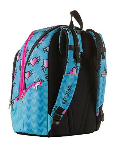 bef2383c88 Backpack Seven Advanced Shifty Girl Light Blue 9T2Yocq - misgiving ...