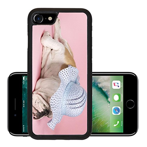 Liili Premium Apple iPhone 7 iPhone7 Aluminum Backplate Bumper Snap Case IMAGE (Wearing Bonnet)