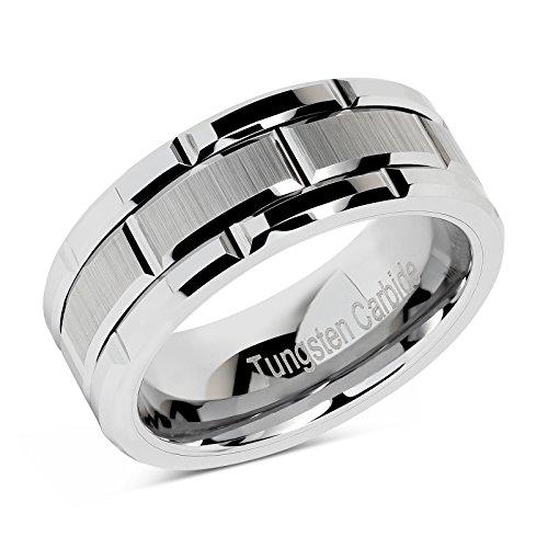 Buy men promise rings silver