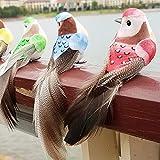 super1798 Artificial Foam Feather Animal Bird Figurine Ornament Lawn Yard Garden Decor - Random Color