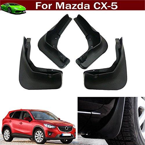 New 4pcs Mud Flap Splash Guard Fender Mudguard Mudflap For Mazda CX5 CX-5 2013 2014 2015 2016 TianTian Auto Part Co. Ltd