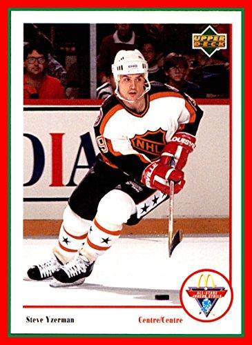 1991-92 McDonald's Upper Deck #19 Steve Yzerman DETROIT RED WINGS