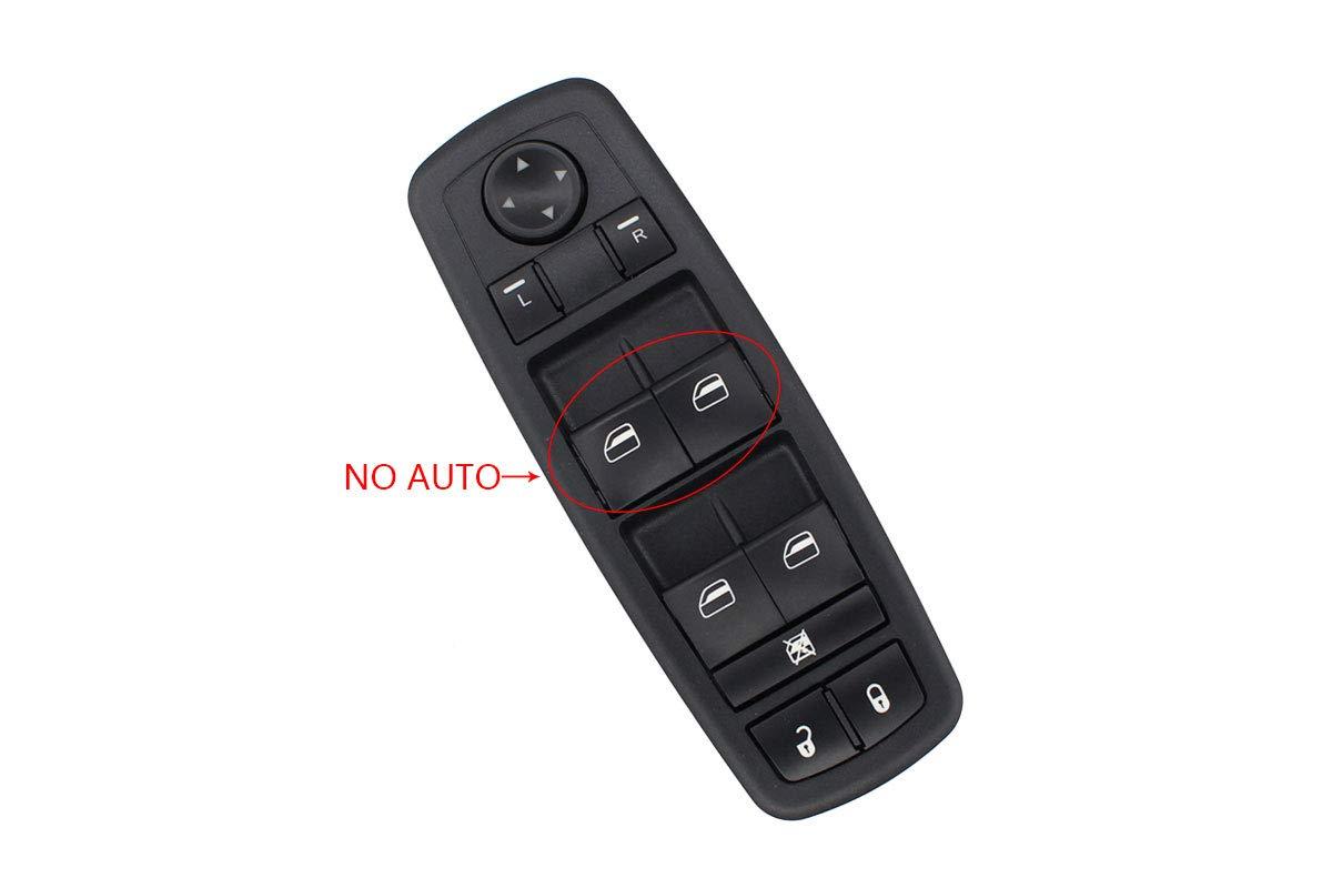 Driver Side Master Power Window Switch For Dodge Grand Caravan 2008 2009 2010 Journey 2009 2010 2011 2012 2013 2014 MOTOKU