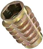 E-Z Lok Threaded Insert, Zinc, Hex-Flush, 5/16''-18 Internal Threads, 0.789'' Length (Pack of 50)
