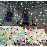 Luminous Stars(200PCS) Glow in the Dark Fluorescent...