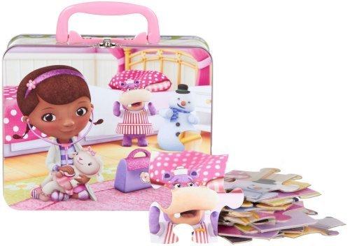 Doc Mcstuffins Lunch Box (Disney 24Pc Doc McStuffins Puzzle in Tin Lunch)