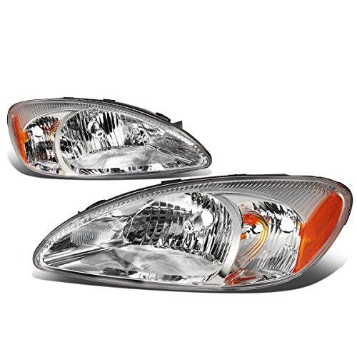 - For Ford Taurus 4th Gen SE SEL Wagon Pair of Chrome Housing Amber Corner Headlight Lamp