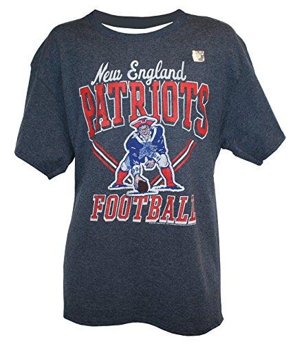NFL Men's Script Wordmark T-Shirt by G-III, New England Patriots, Large