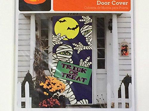 Mummies Halloween Door Cover - Wall Decoration -