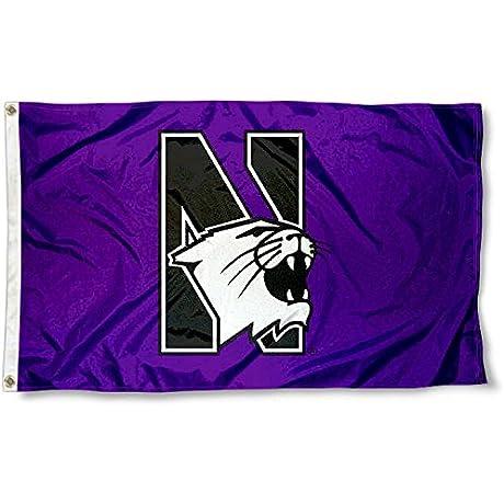 Northwestern Wildcats Flag