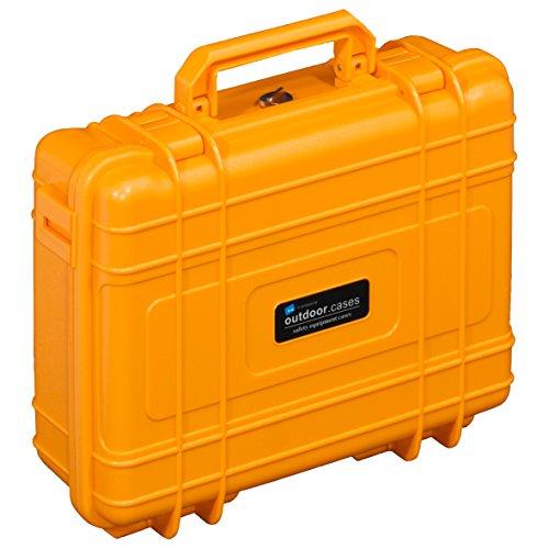 B&W Outdoor Cases Typ 10 RPD (variable Facheinteilung) orange
