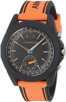Armani Exchange Men's AXT1003 Silicone Connected Hybrid Watch